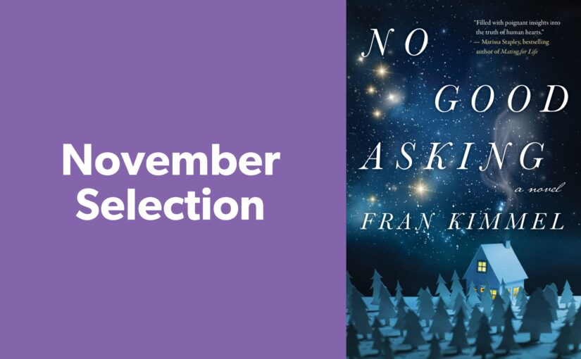 Tuesday Afternoon Drop-In Book Club November Selection