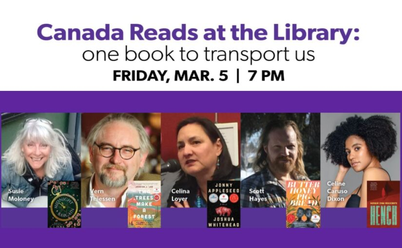 Canada Reads at the Library